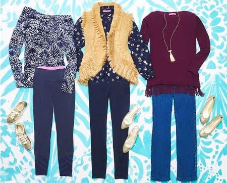 Thanksgiving Day Style from Lilly Pulitzer