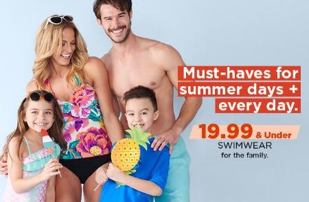 $19.99 & Under Swimwear from Kohl's