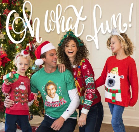 Holiday Clothing for the Whole Family from Von Maur