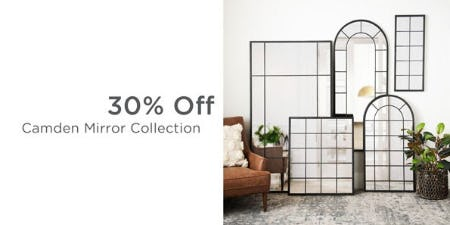 30% Off Camden Mirror Collection from Kirkland's