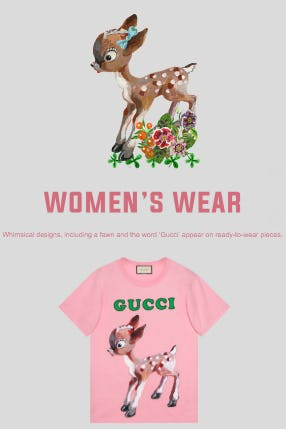 Women's Ready-to-Wear Pieces from Gucci