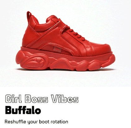 Introducing Buffalo from Lady Foot Locker