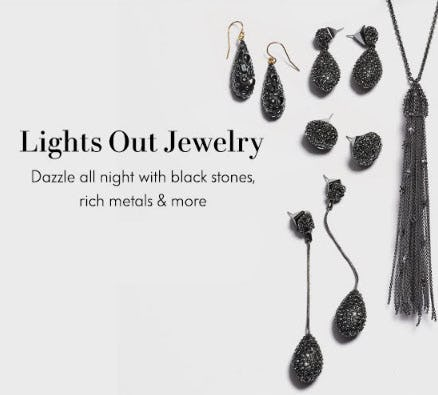 Lights Out Jewelry from Neiman Marcus