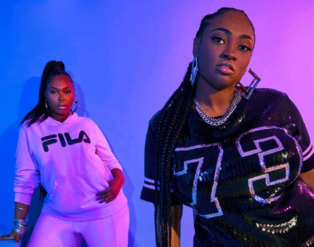 The Curve Collection by FILA from Ashley Stewart