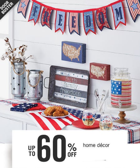 Up to 60% Off Home Decor from Belk