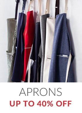 Up to 40% Off Aprons from Sur La Table