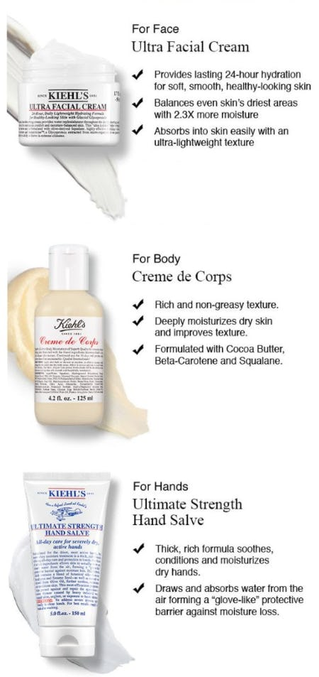 Your Head-to-Toe Must Haves for Winter from Kiehl's
