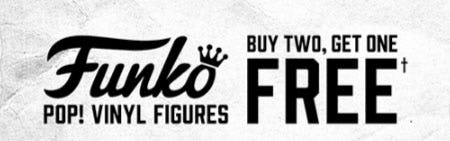 B2G1 Free Funko Pop! Vinyl Figures from Hot Topic