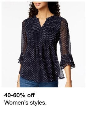 40-60% Off Women's Styles from macy's
