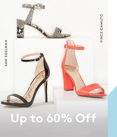 Up to 60% Off Heeled Sandals from Nordstrom Rack