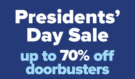 Presidents' Day Sale: Up to 70% Off Doorbusters from Belk
