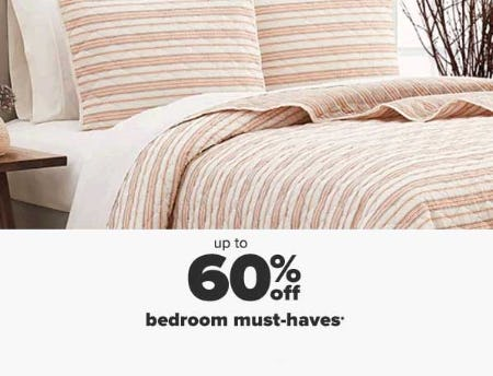 Up to 60% Off Bedroom Must-Haves from Belk