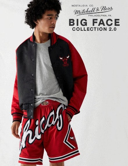 Discover the New Mitchell & Ness Big Face Collection 2.0 from PacSun
