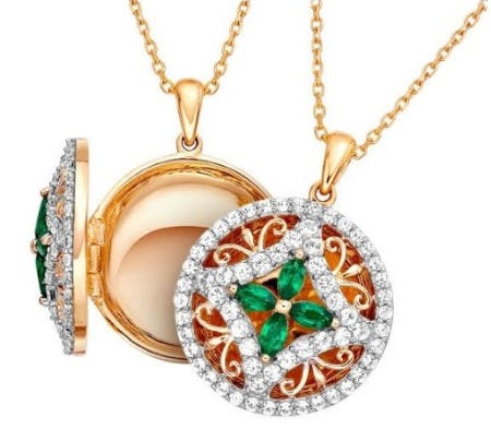 Lovely Lockets from Jared Galleria Of Jewelry