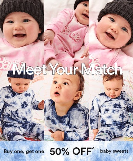 BOGO 50% Off Baby Sweats from Cotton On Kids