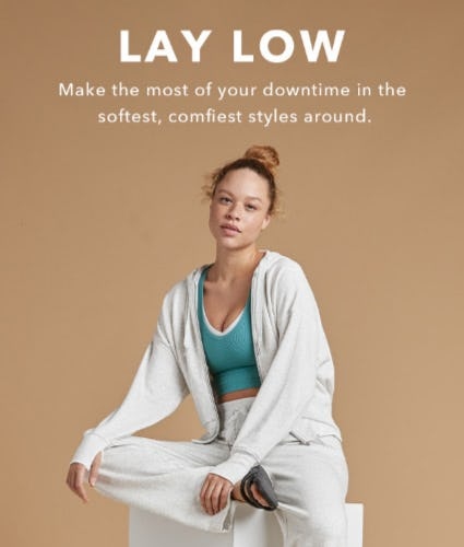 Lounge-Worthy Styles to Chill In from Athleta