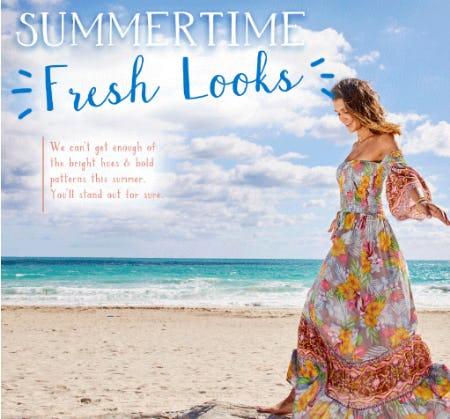 The Summertime Fresh Looks