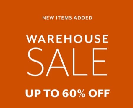 Warehouse Sale Up to 60% Off from Sur La Table