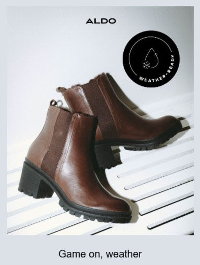 Shop Weather-Ready Boots from ALDO
