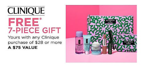 Free 7-Piece Gift with Purchase from Belk