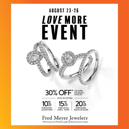 Love More Event from Fred Meyer Jewelers