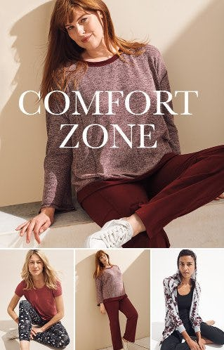 The Comfort Zone: New Lounge! from Dress Barn, Misses And Woman