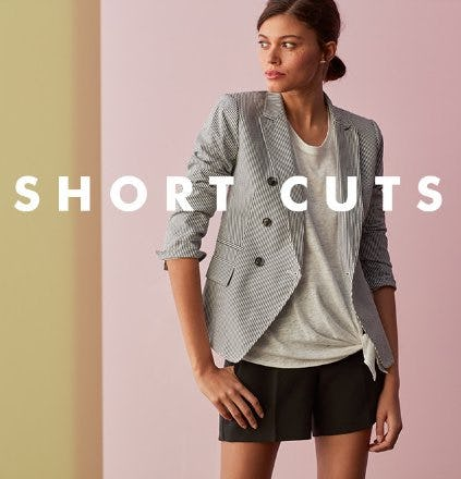 Shorts: This Season's Unofficial Essential from Banana Republic