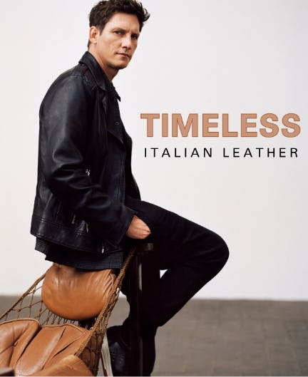 Timeless Italian Leather from Boss