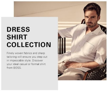 The Dress Shirt Collection from Hugo Boss