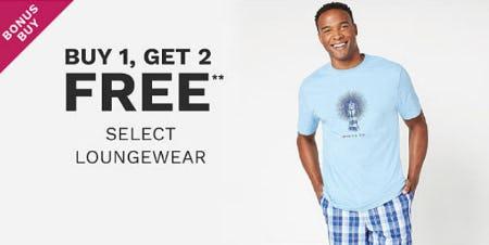B1G2 Free Select Loungewear from Belk