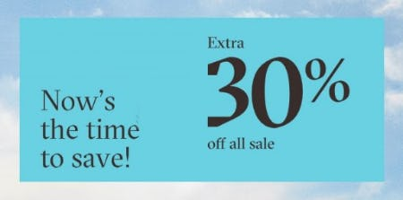 Extra 30% Off All Sale from ALDO Shoes
