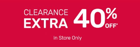 Extra 40% Off Clearance from Pier 1 Imports