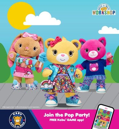 Welcome to the PAWsitively Awesome World of Kabu! from Build-A-Bear Workshop
