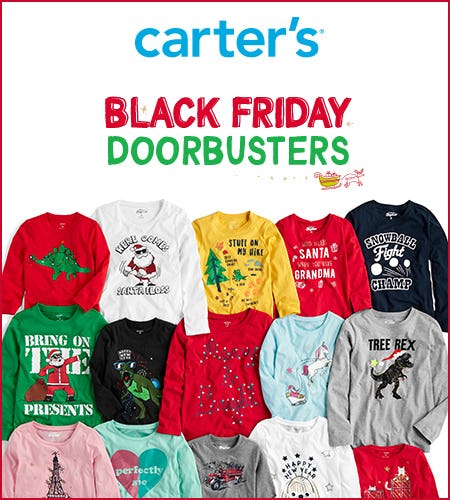 $5 & Up Black Friday Doorbusters from Carter's