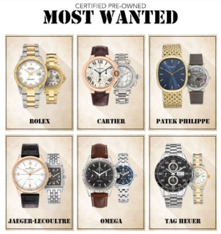 Certified Pre-Owned Most Wanted from Tourneau