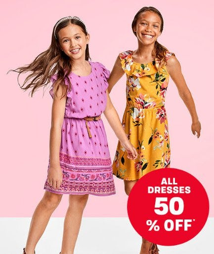 All Dresses 50% Off