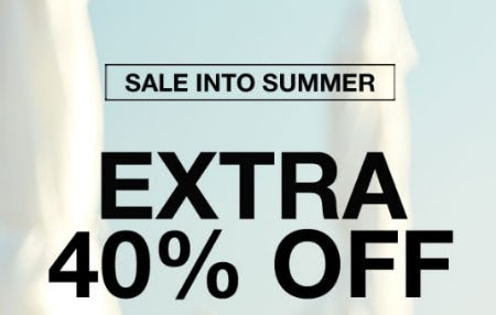 Extra 40% Off Sale from Everything But Water