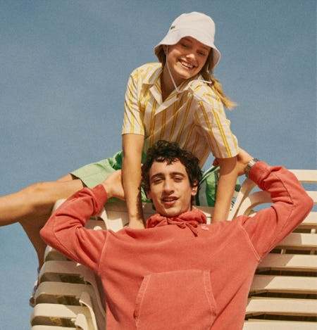New Warm Weather Style Essentials from Lacoste
