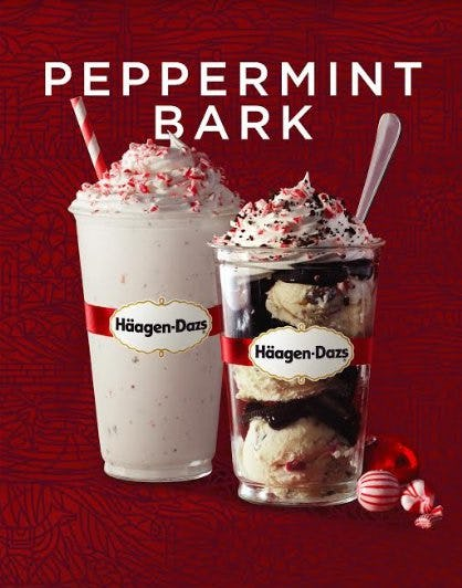 Häagen-Dazs Peppermint Bark is Back for the Holidays! from Häagen-Dazs