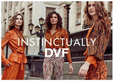 One Word: Tiger from Diane von Furstenberg