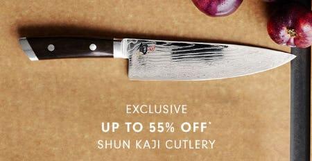 Up to 55% Off Shun Kaji Cutlery from Williams-Sonoma