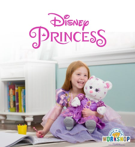 Build-A-Bear Debuts a Royally Fun Bear for Princess Playtime!