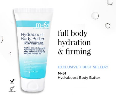 M-61 Hydraboost Body Butter from Blue Mercury