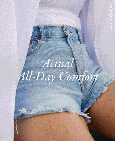 Actual All-Day Comfort from Abercrombie & Fitch