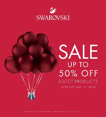 Swarovski Summer Sale from Swarovski