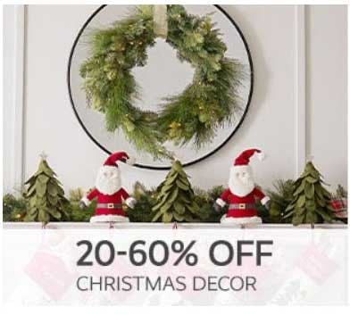 20–60% Off Christmas Decor from Pottery Barn Kids