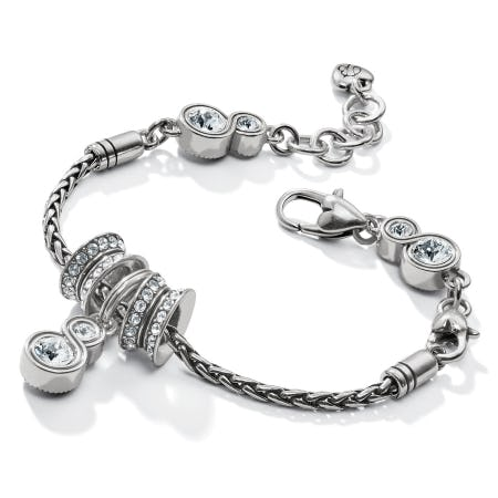 FREE GWP - Infinity Sparkle Slide Bracelet