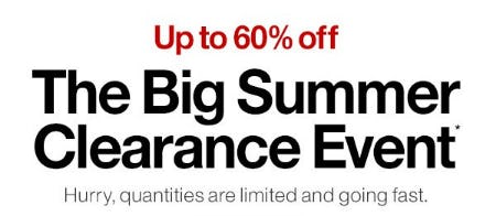 Up to 60% Off The Big Summer Clearance Event from Crate & Barrel