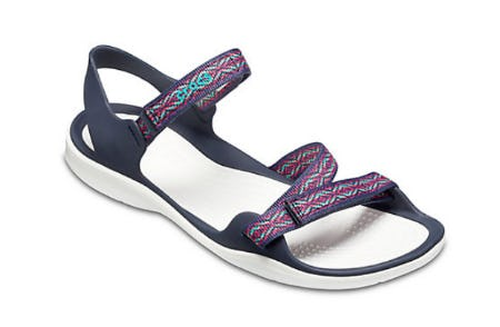 Women's Swiftwater Graphic Webbing Sandal from Crocs