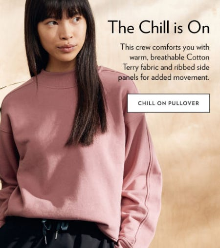 The Chill is On from lululemon